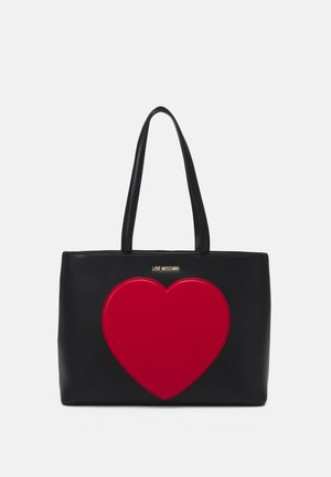 SHOPPER BLACK EXCLUSIVE - Tote bag - black