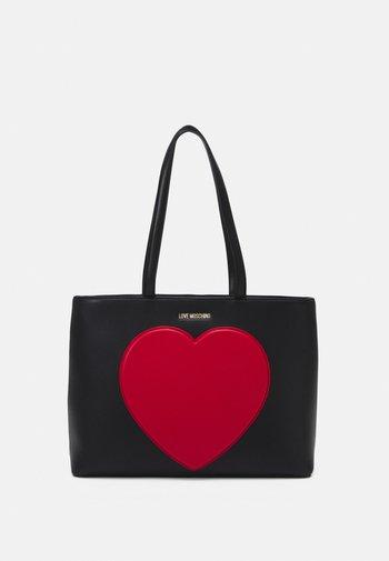 SHOPPER BLACK EXCLUSIVE - Tote bag - black