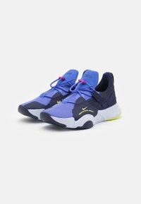 Nike Performance - SUPERREP GROOVE - Sports shoes - blackened blue/cyber/sapphire/ghost - 1