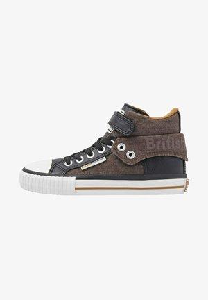 ROCO - Sneakers hoog - dark brown black