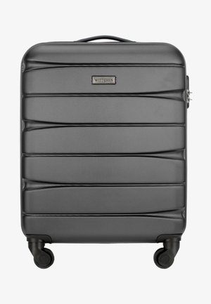 Wheeled suitcase - graphit