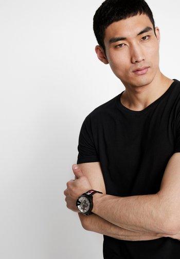 MEGA CHIEF - Horloge - schwarz