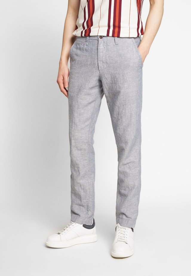 NEW SLIM PANTS - Kalhoty - blue