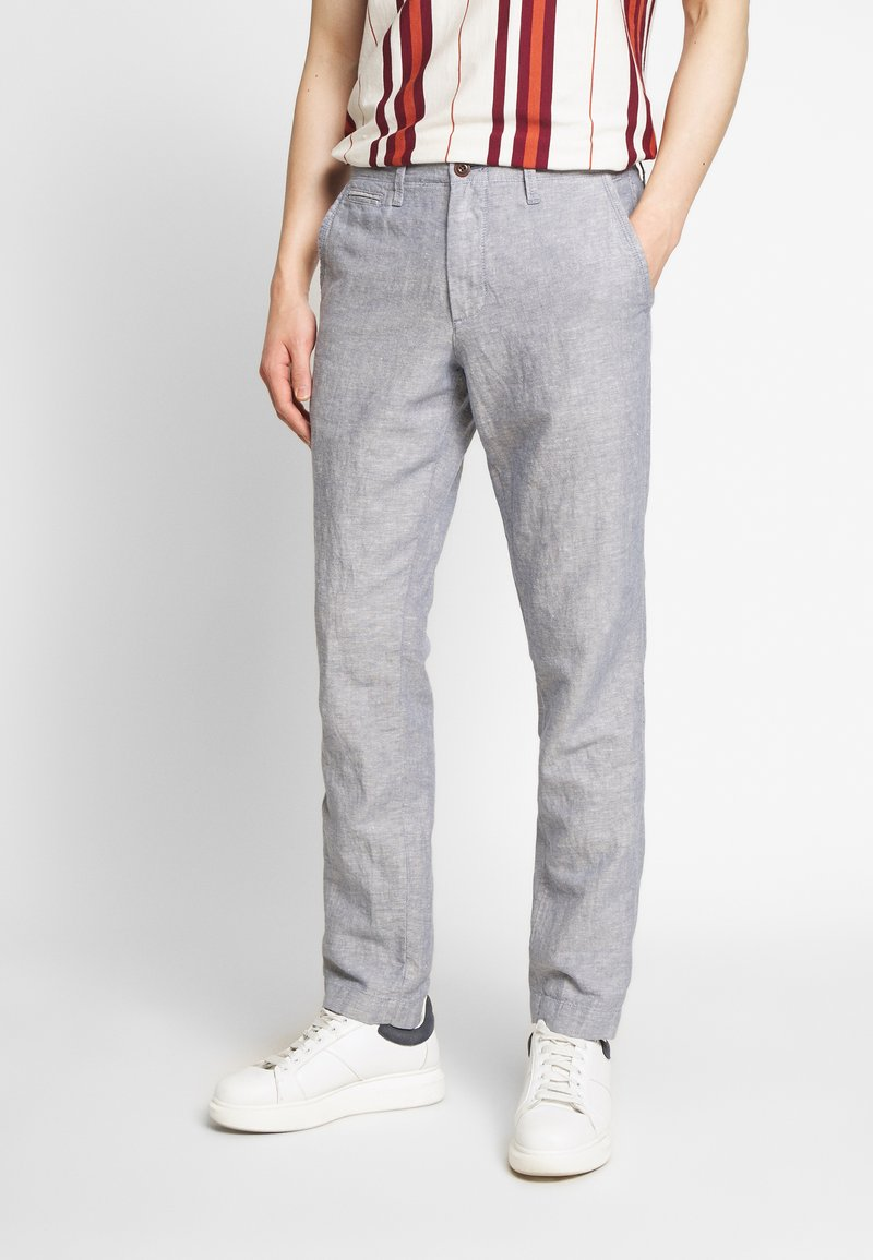 GAP - NEW SLIM PANTS - Trousers - blue