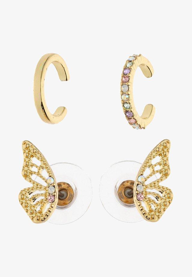 OHRSCHMUCK-SET VON ANA LISA KOHLER - Earrings - gold-coloured