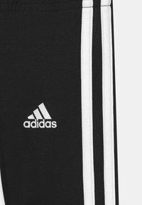 adidas Performance - UNISEX - Legginsy - black/white - 2