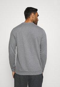 Nike Performance - DRY CREW - Sweater - charcoal heathr/black - 2