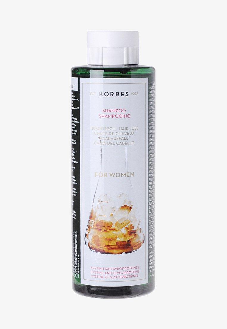 Korres - CYSTINE & GLYCOPROTEINS SHAMPOO FOR HAIR LOSS - Shampoo - -