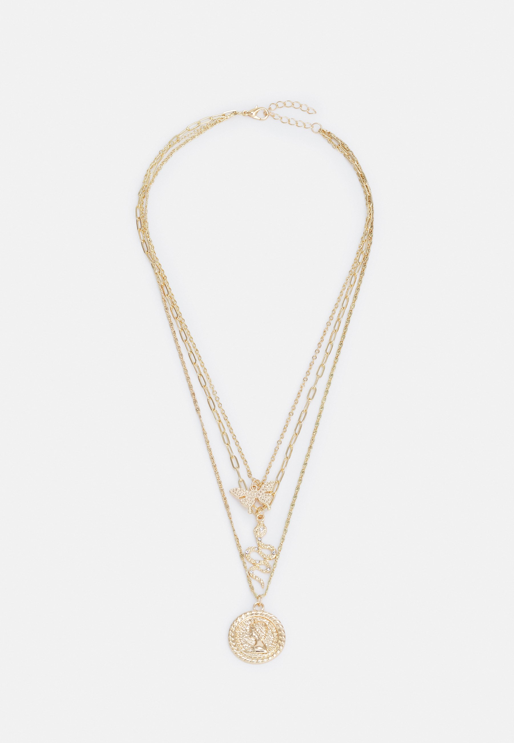 Damen LINE COMBI NECKLACE - Halskette