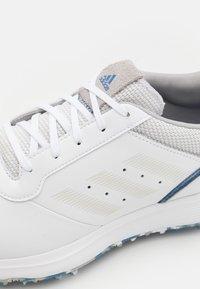 adidas Golf - SPIKED LACE - Golfschoenen - white - 5