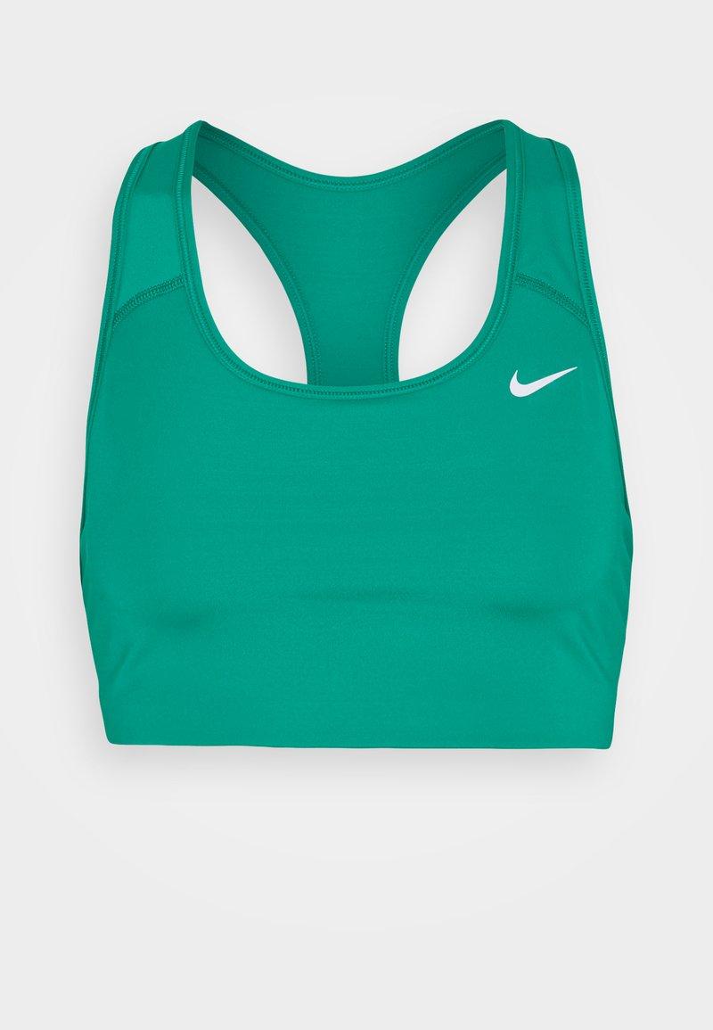 Nike Performance - NON PADDED BRA - Medium support sports bra - neptune green/white
