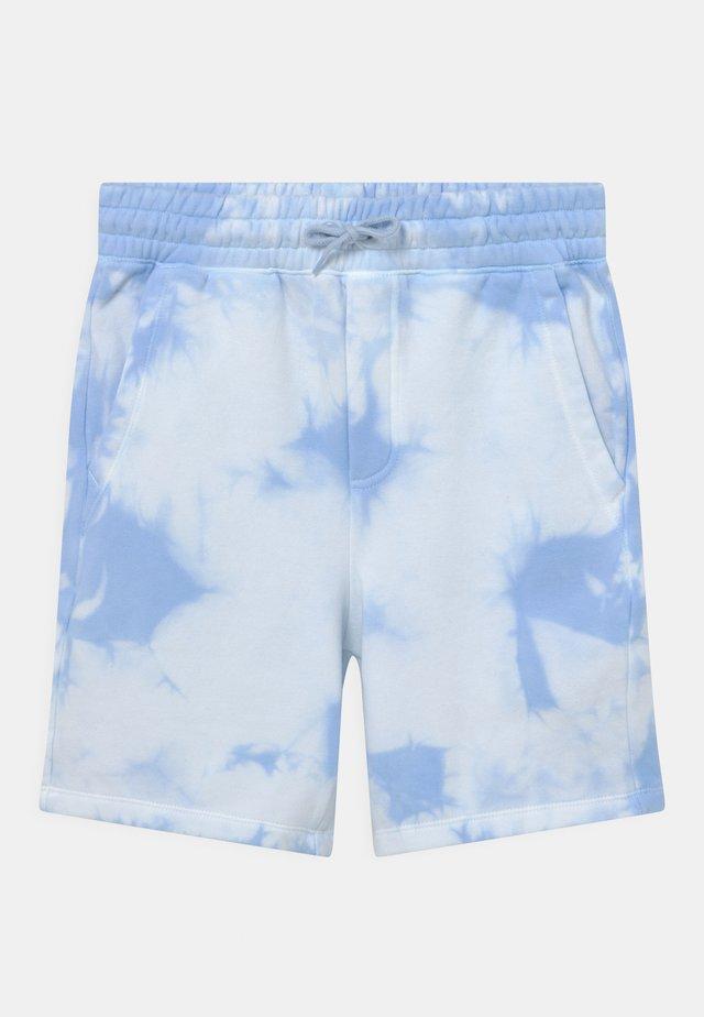 BOY SHORT CLOUD DYETEEN - Shorts - blue