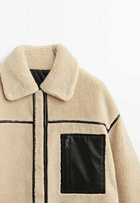 Massimo Dutti - WENDE - Short coat - ochre - 4