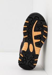 CMP - KIDS RIGEL LOW SHOE WP UNISEX - Hiking shoes - antracite/bounganville - 5