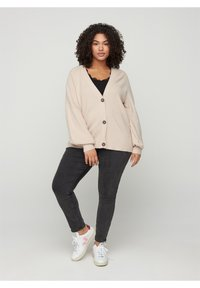 Zizzi - Cardigan - brown - 1