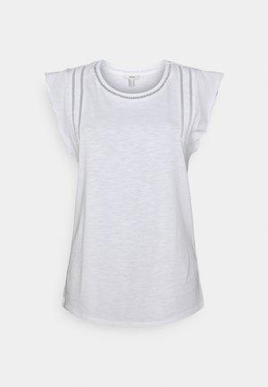 TEE LADDER - Print T-shirt - white