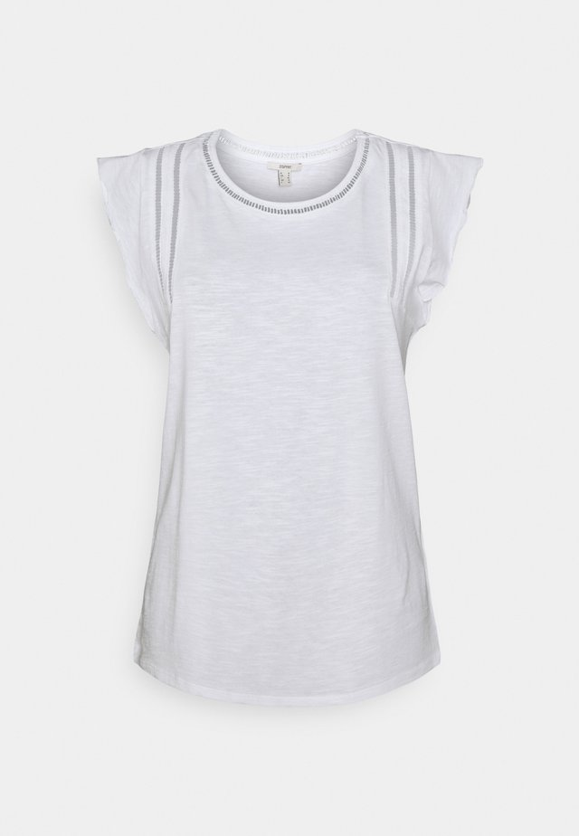 TEE LADDER - T-shirt con stampa - white