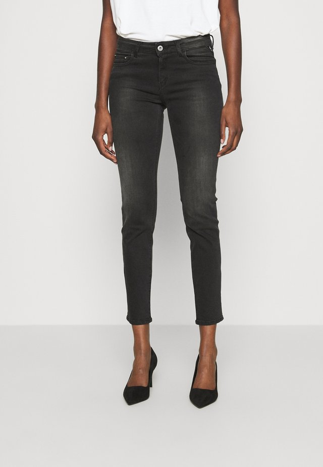 FAABY - Jean slim - dark grey