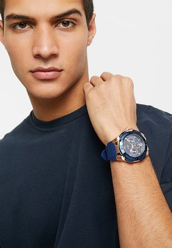 SPORT - Chronograph watch - blue/rose