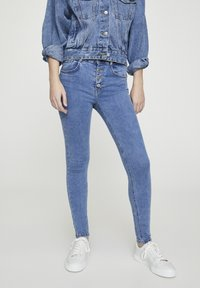 PULL&BEAR - Jeans Skinny Fit - blue denim - 0