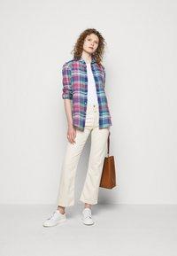 Polo Ralph Lauren - PLAID - Button-down blouse - pink/blue - 1