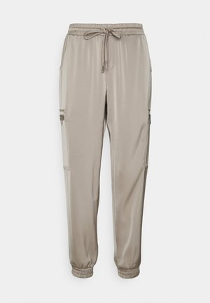 HULVELA - Trousers - cement
