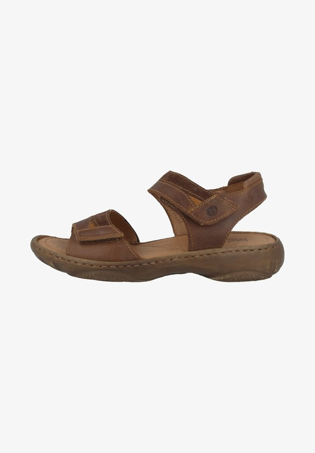 DEBRA - Outdoorsandalen - chestnut