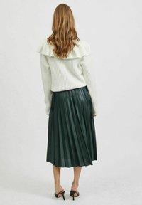 Vila - VINITBAN  - A-line skirt - darkest spruce - 2