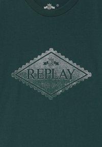 Replay - Print T-shirt - green - 2
