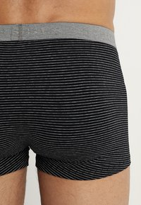 Schiesser - 2 PACK - Pants - mottled grey/black - 2