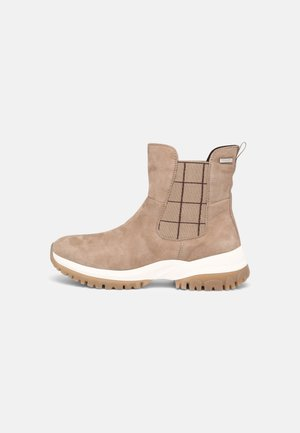 Winter boots - sand suede