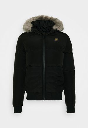 DISTANCE JACKET - Vinterjacka - black