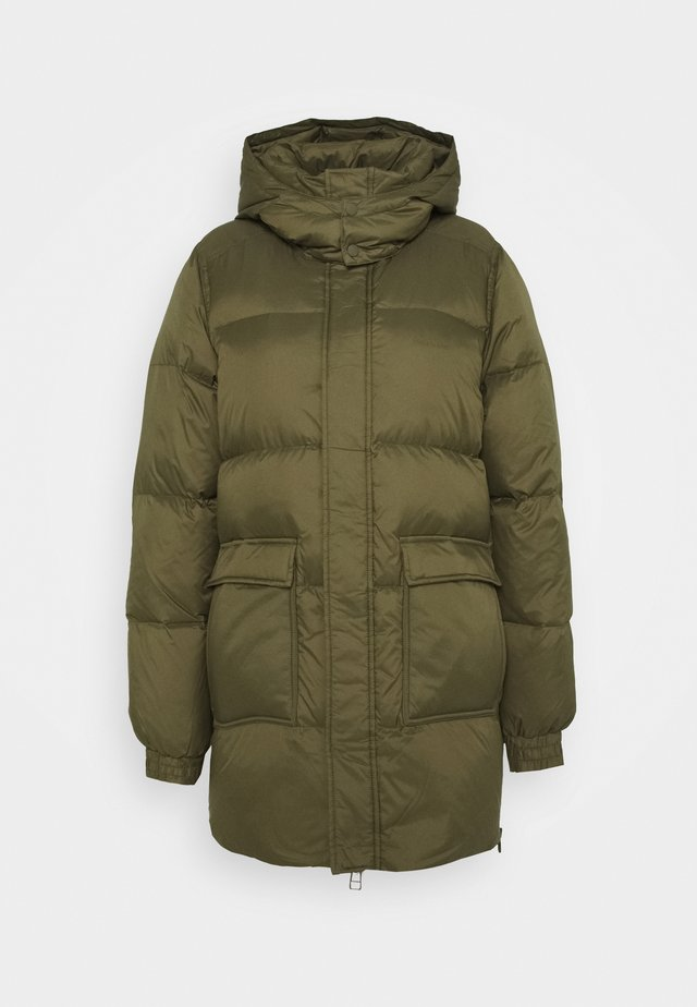 SOL JACKET - Down coat - army