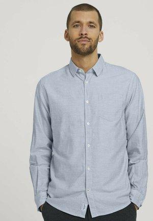 Shirt - off white horizontal stripe