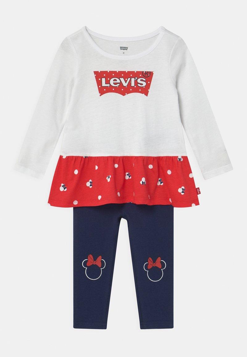 Levi's® - PEPLUM SET - Leggings - Trousers - white