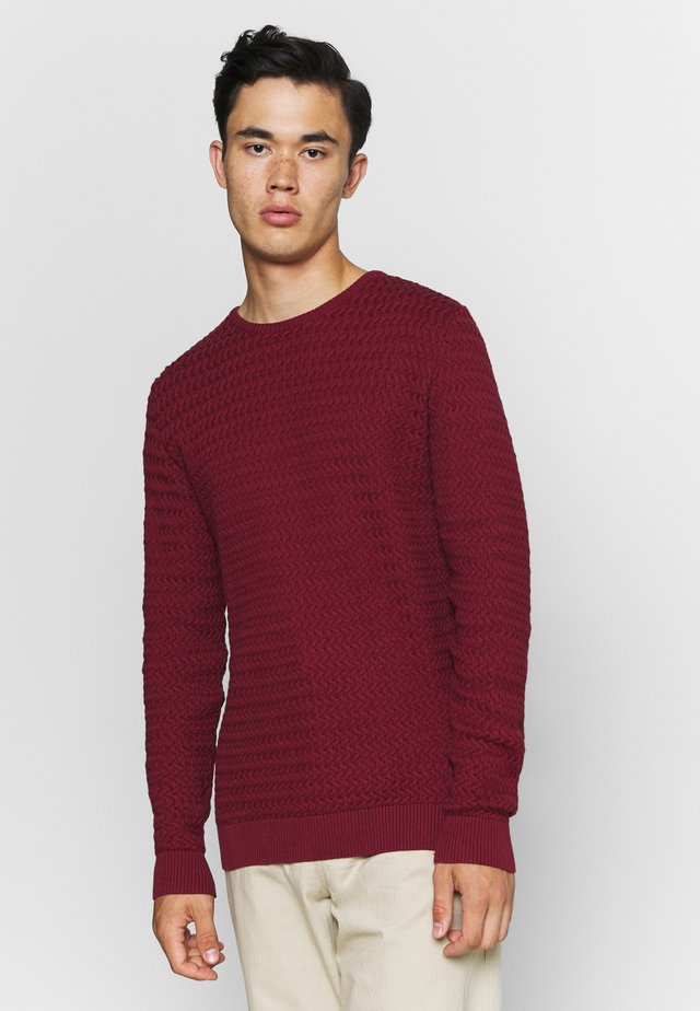 FIELD ONECK STRUCTURED  - Sweter - codovan