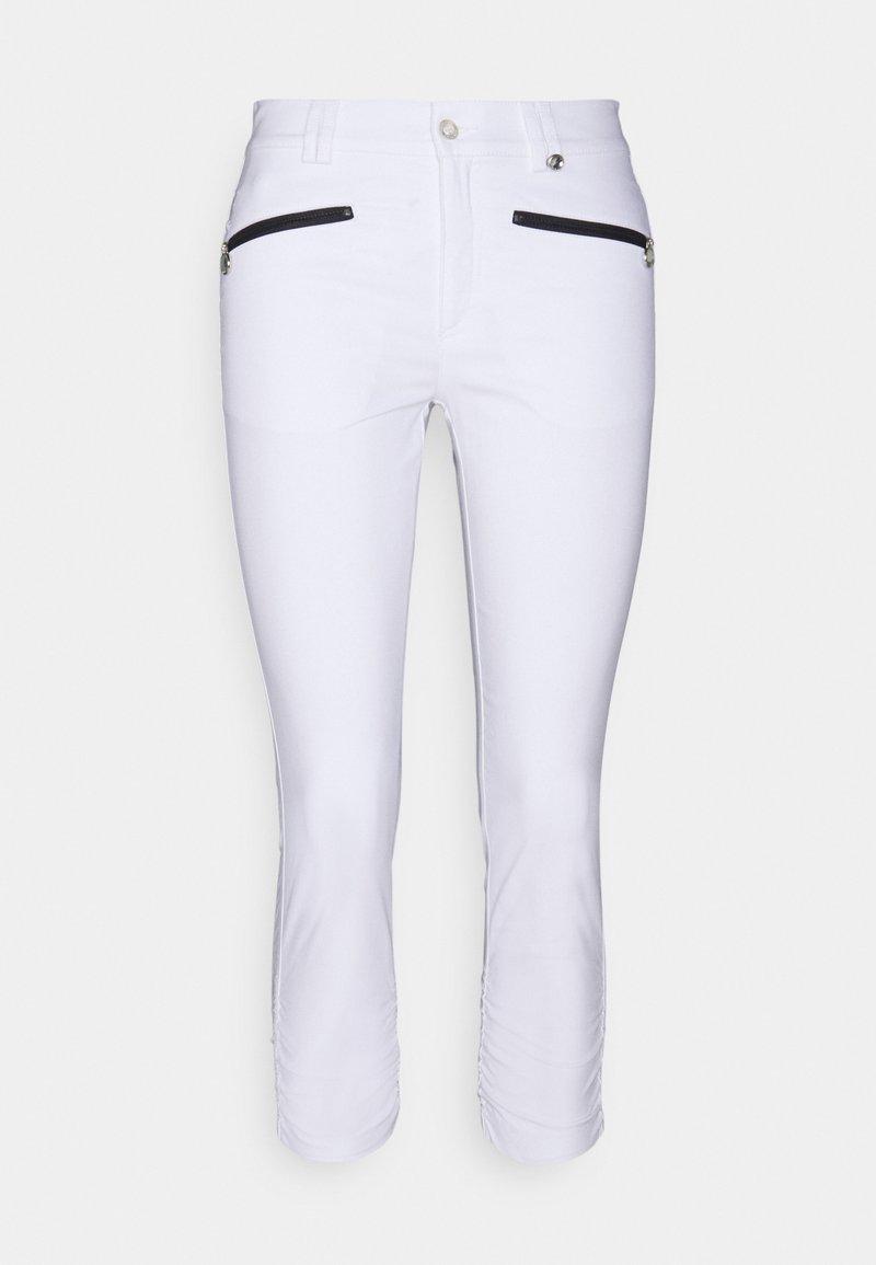 Golfino - THE SILVIA CAPRI  - Leggings - optic white