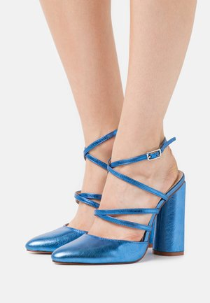 JUNA - High heels - blue