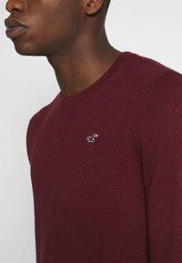 Hollister Co. - CORE CREW - Pullover - dark red