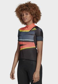 adidas Performance - ADISTAR JERSEY - T-shirts med print - orange/yellow - 3