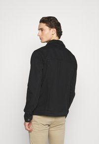 Newport Bay Sailing Club - BORG TRUCKER - Denim jacket - black - 2