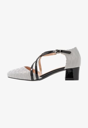 COREY - Klassiske pumps - black/white