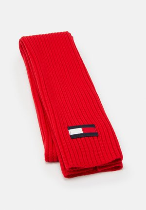 BIG FLAG SCARF - Sjaal - red