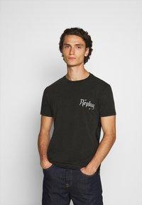 Replay - T-shirt con stampa - blackboard - 2