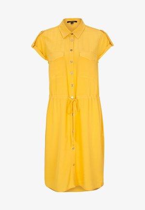 KURZARM - Shirt dress - yellow