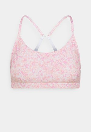 WORKOUT YOGA CROP - Sport BH - ditsy pink