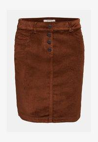 Esprit - PENCIL SKIRT - Pencil skirt - brown - 7
