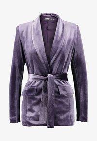 Missguided - LIGHT MAGIC TIE WAIST - Blazer - purple - 4