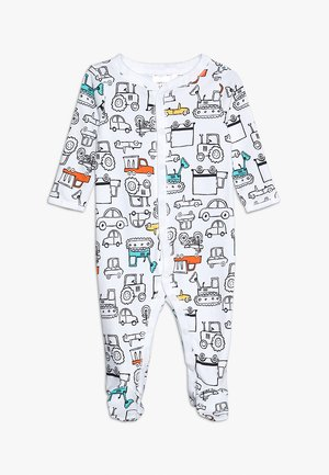 BABY INTERLOCK TRUCKS - Pyjama - white