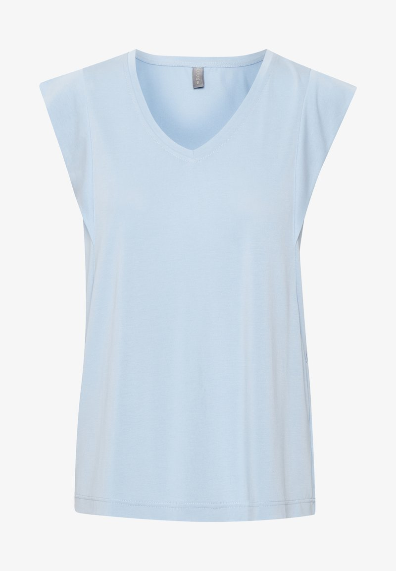 Culture - KAJSA - Basic T-shirt - cashmere blue
